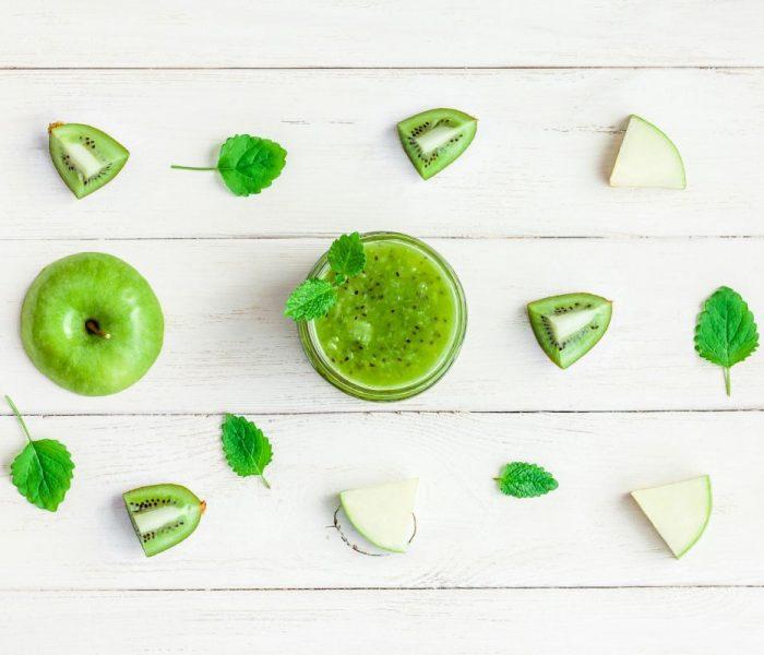 Zielony koktajl na zakwaszony organizm